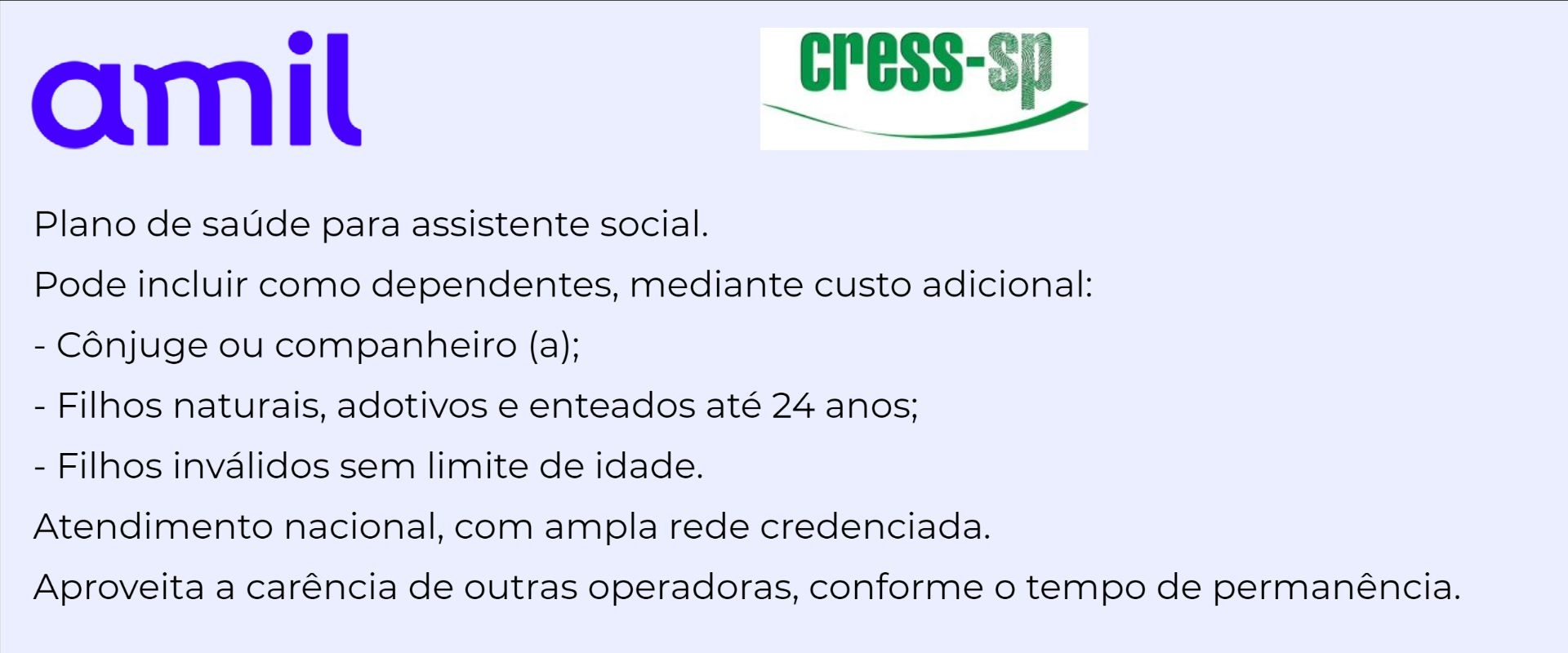 Amil CRESS-SP