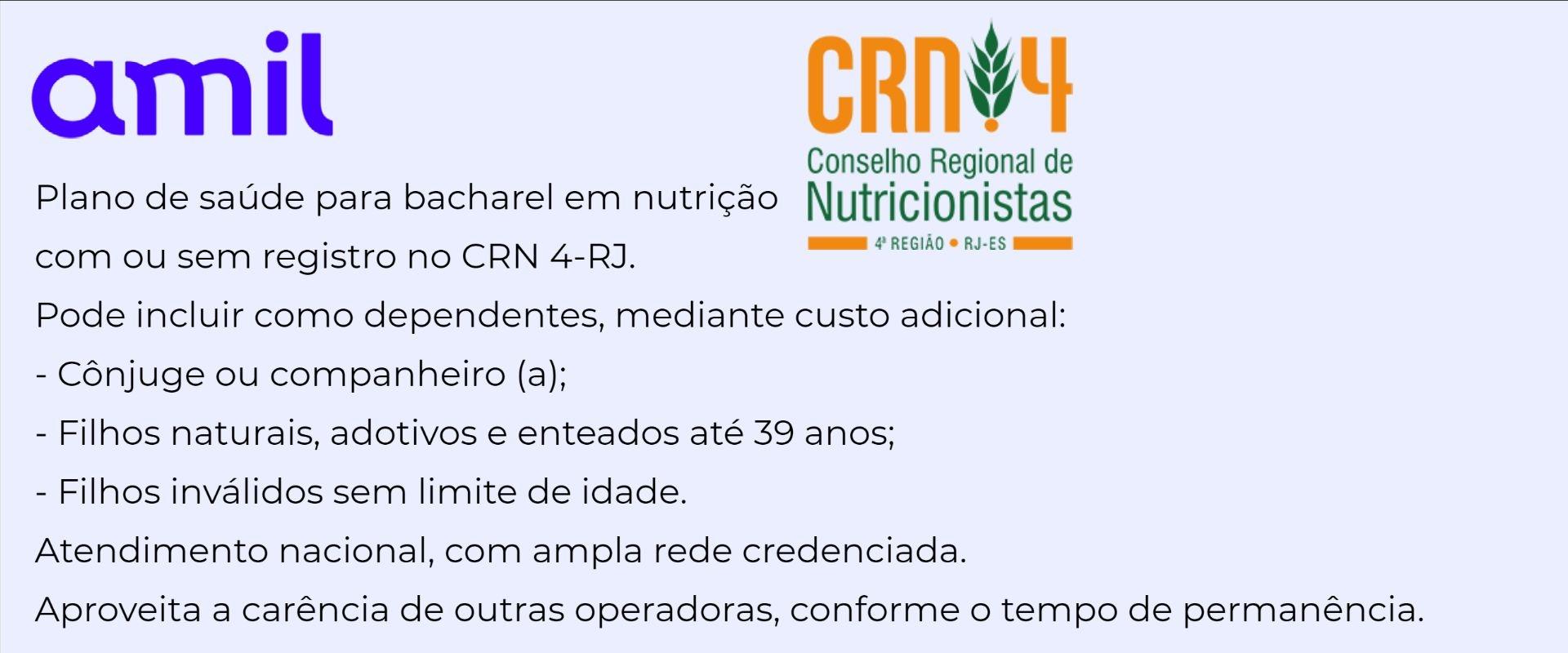 Amil CRN 4-RJ