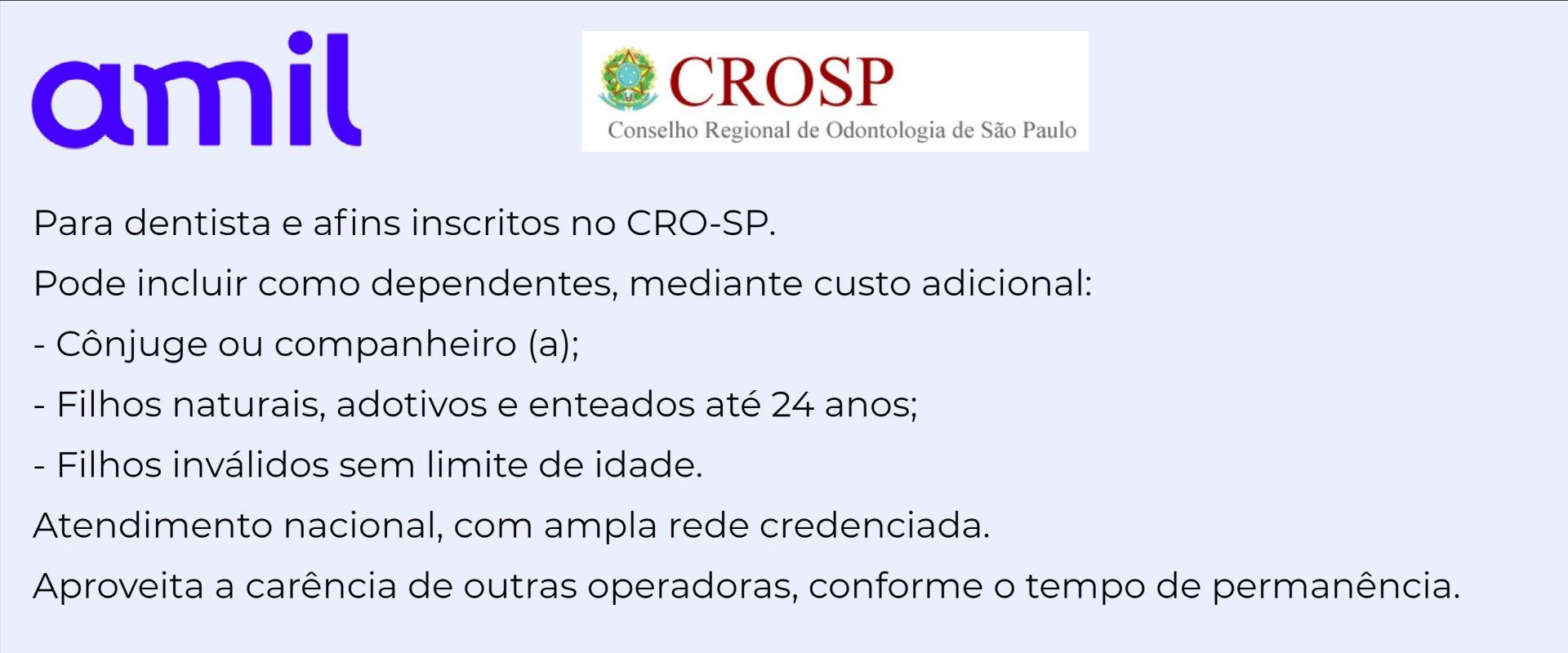 Amil CRN-SP