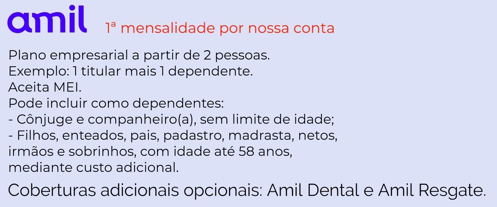 Amil Empresarial - Além Paraíba