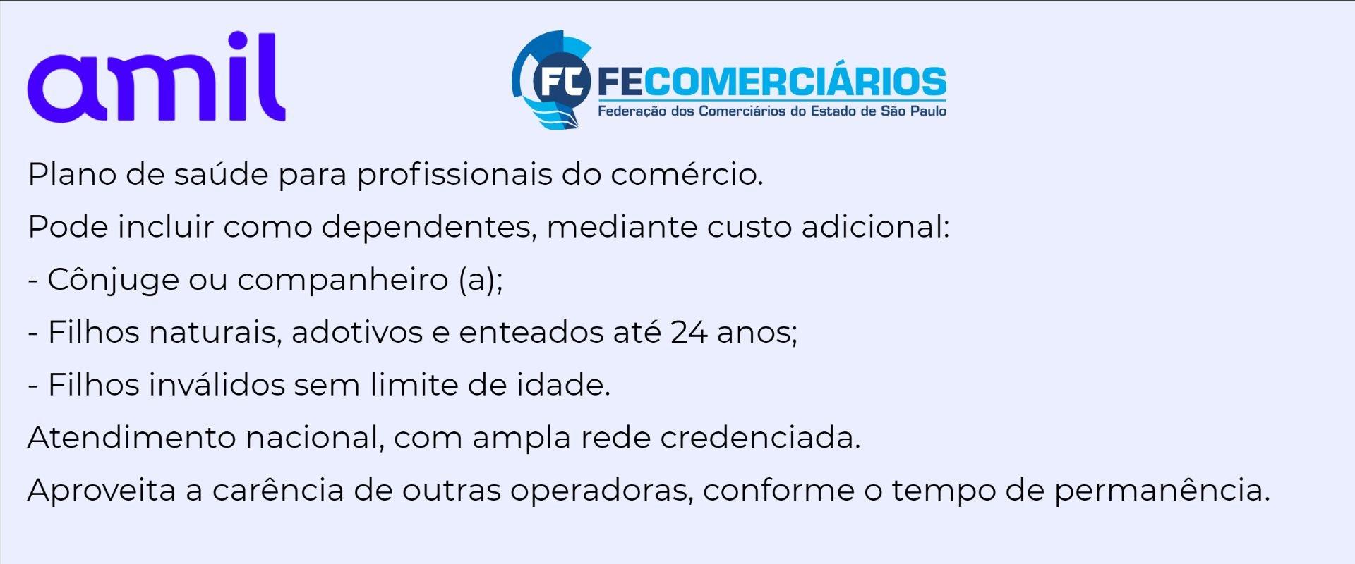Amil Fecomerciarios-SP