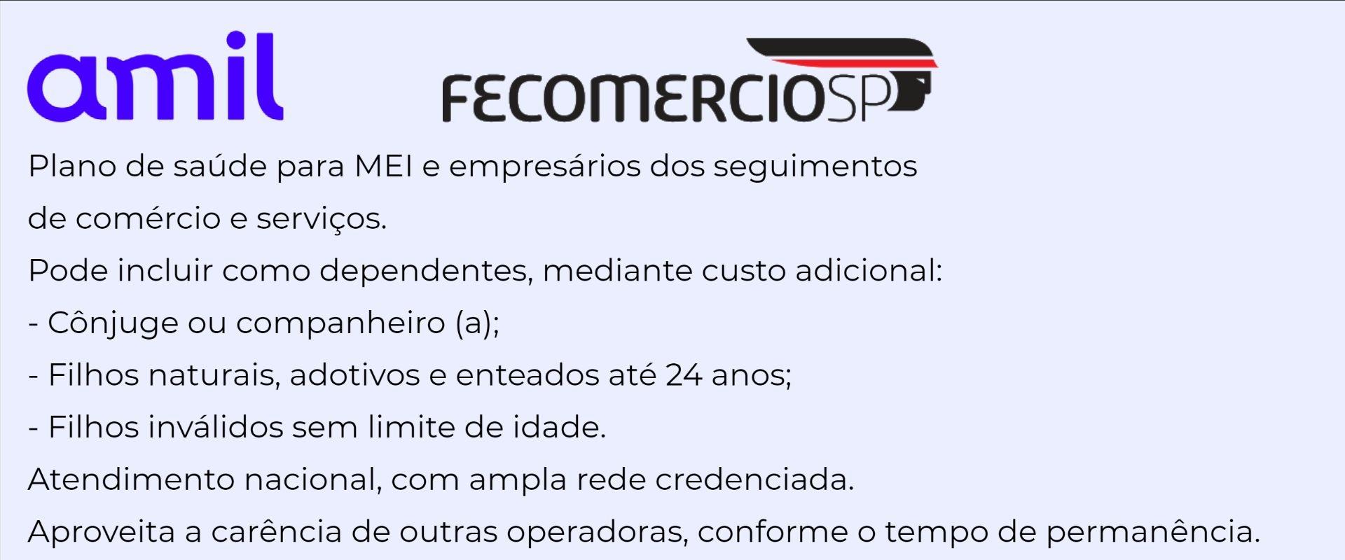 Amil Fecomércio-SP