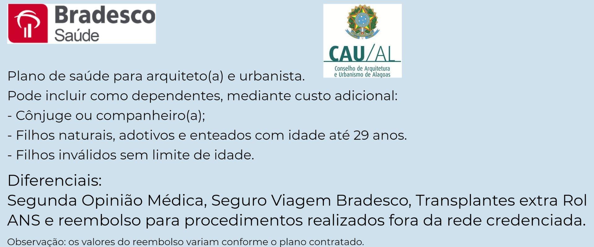 Bradesco Saúde CAU-AL