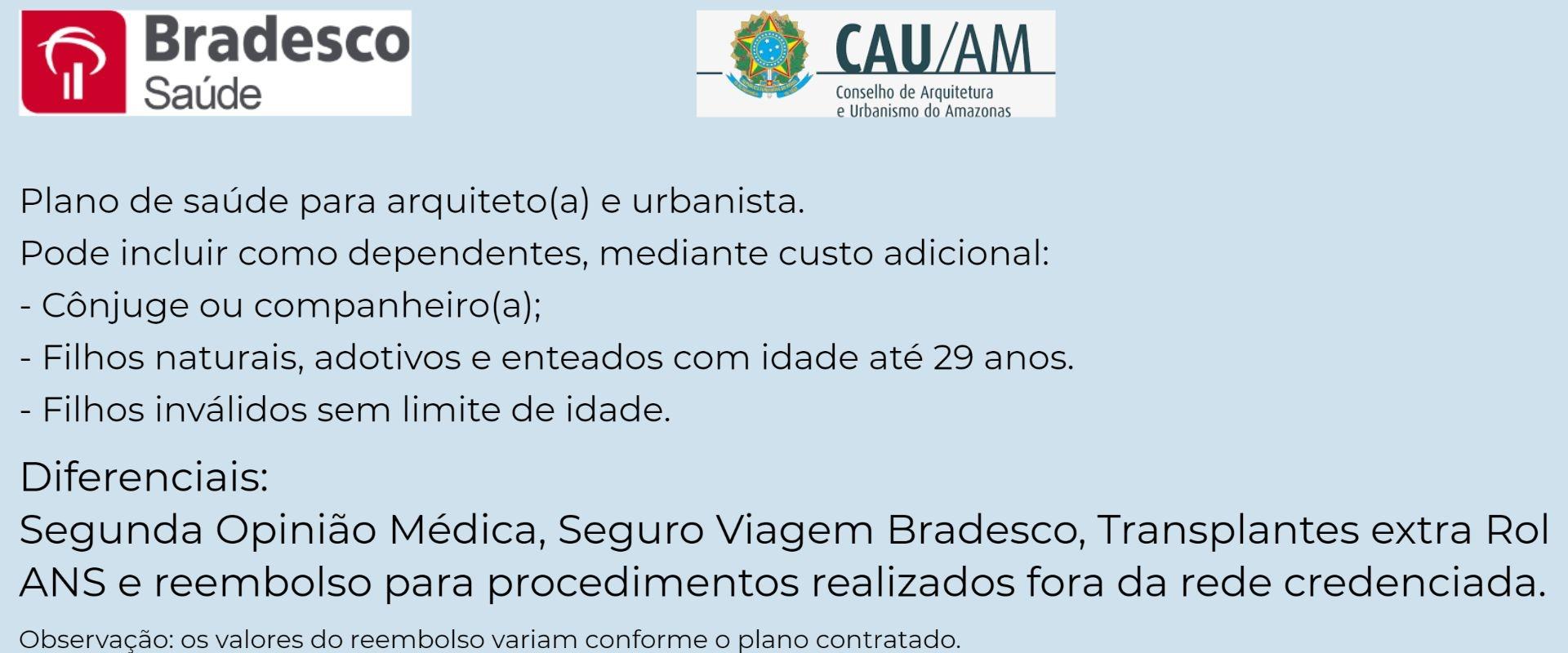 Bradesco Saúde CAU-AM