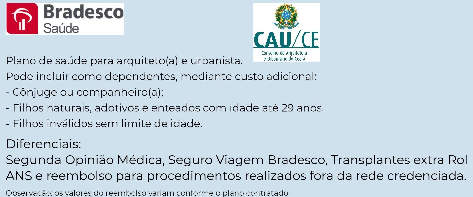 Bradesco Saúde CAU-CE