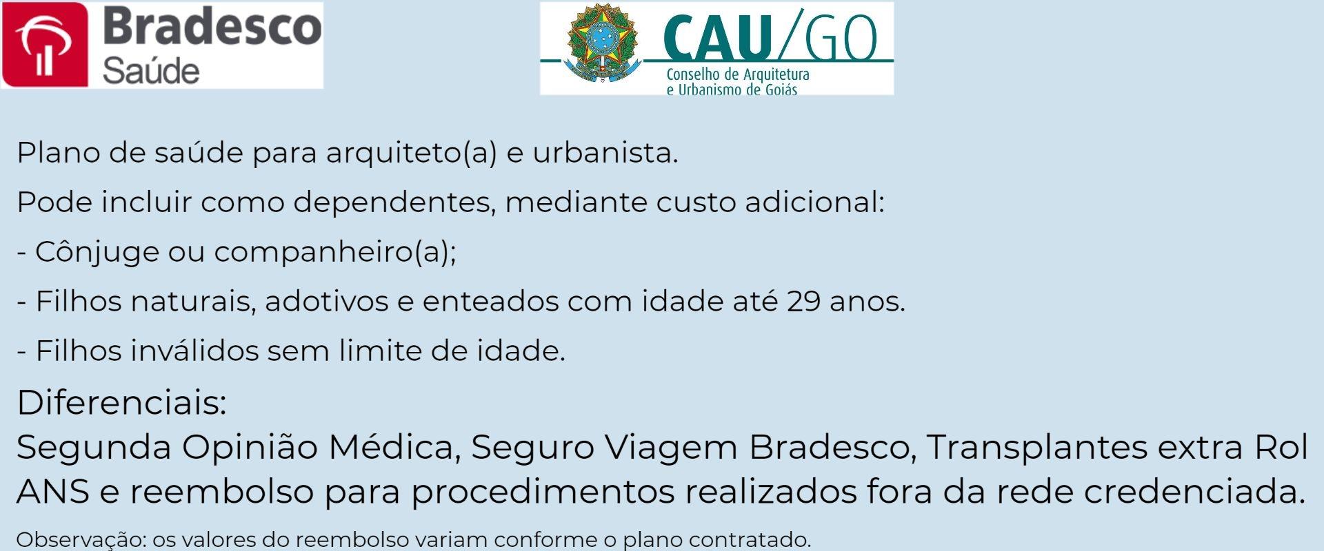 Bradesco Saúde CAU-GO