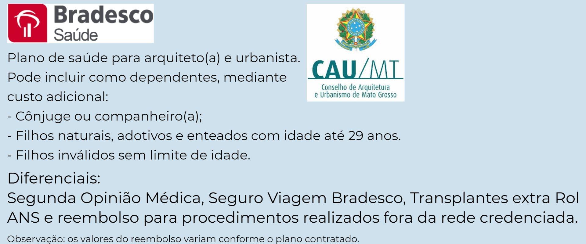 Bradesco Saúde CAU-MT