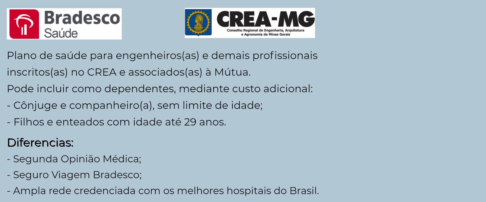 Bradesco Saúde CREA-MG