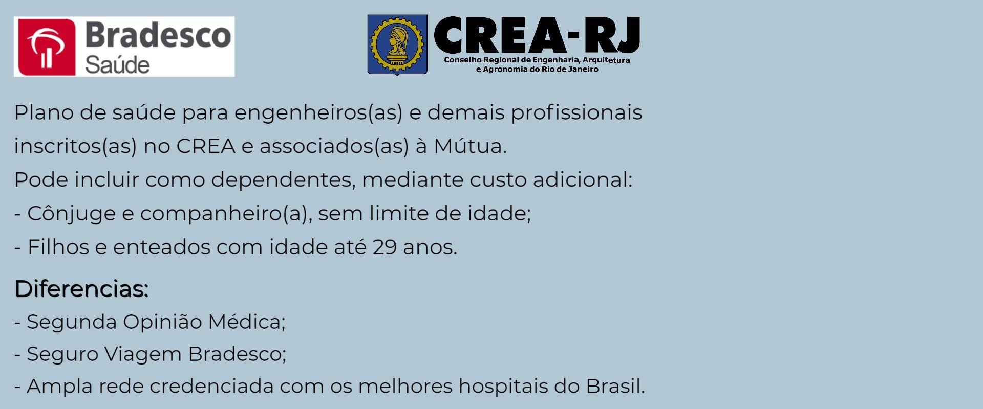 Bradesco Saúde CREA-RJ