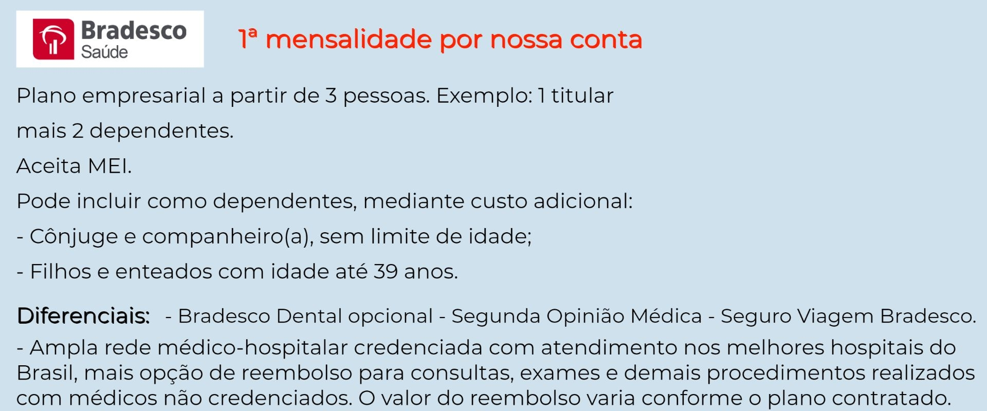 Bradesco Saúde Empresarial - Três Lagoas