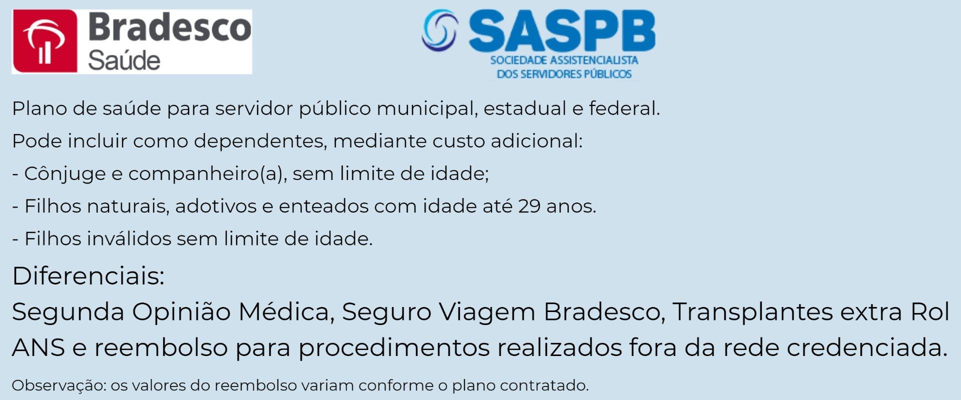 Bradesco Saúde SASPB-RJ