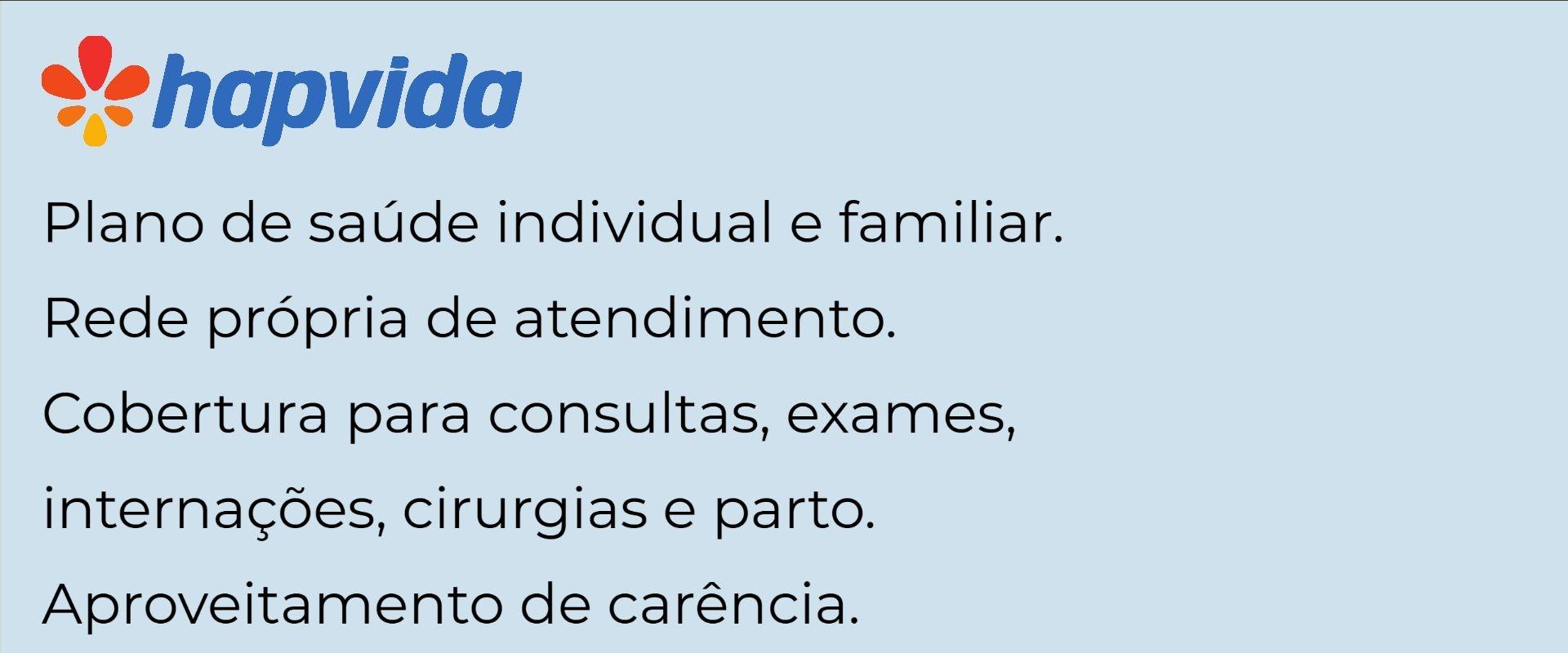 Hapvida Individual e Familiar - São Luís-MA
