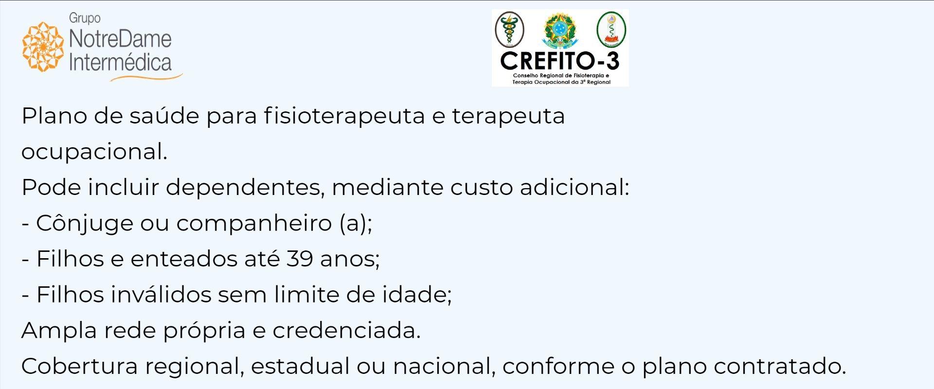 Notredame Intermédica Crefito-SP