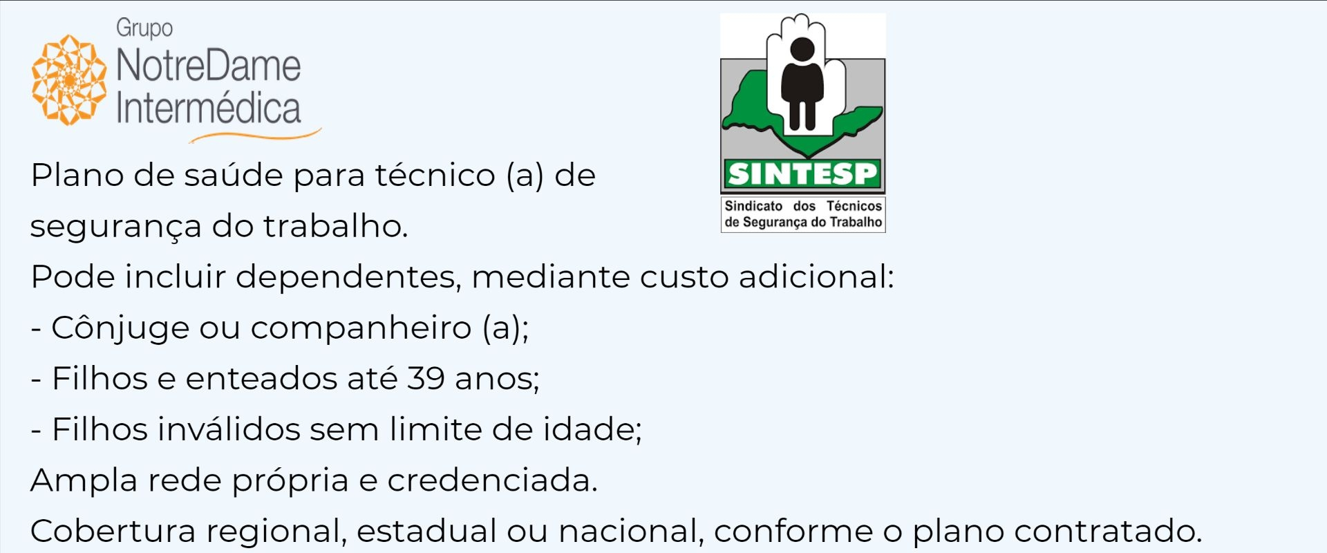 Notredame Intermédica Sintesp-SP