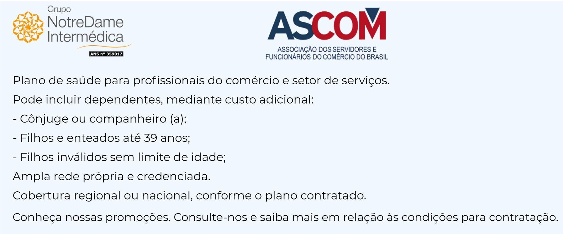 Notredame Intermédica ASCOM-RJ