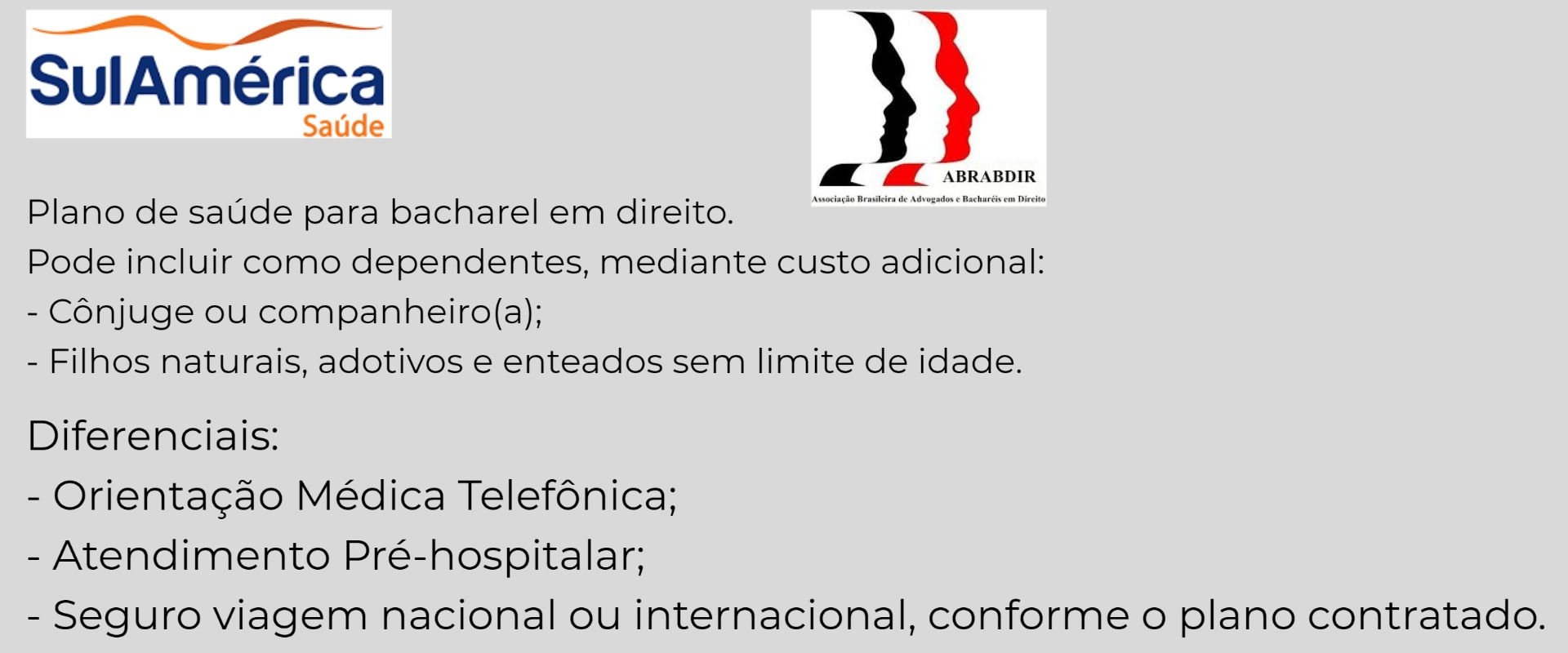 Sul América ABRABDIR-RJ