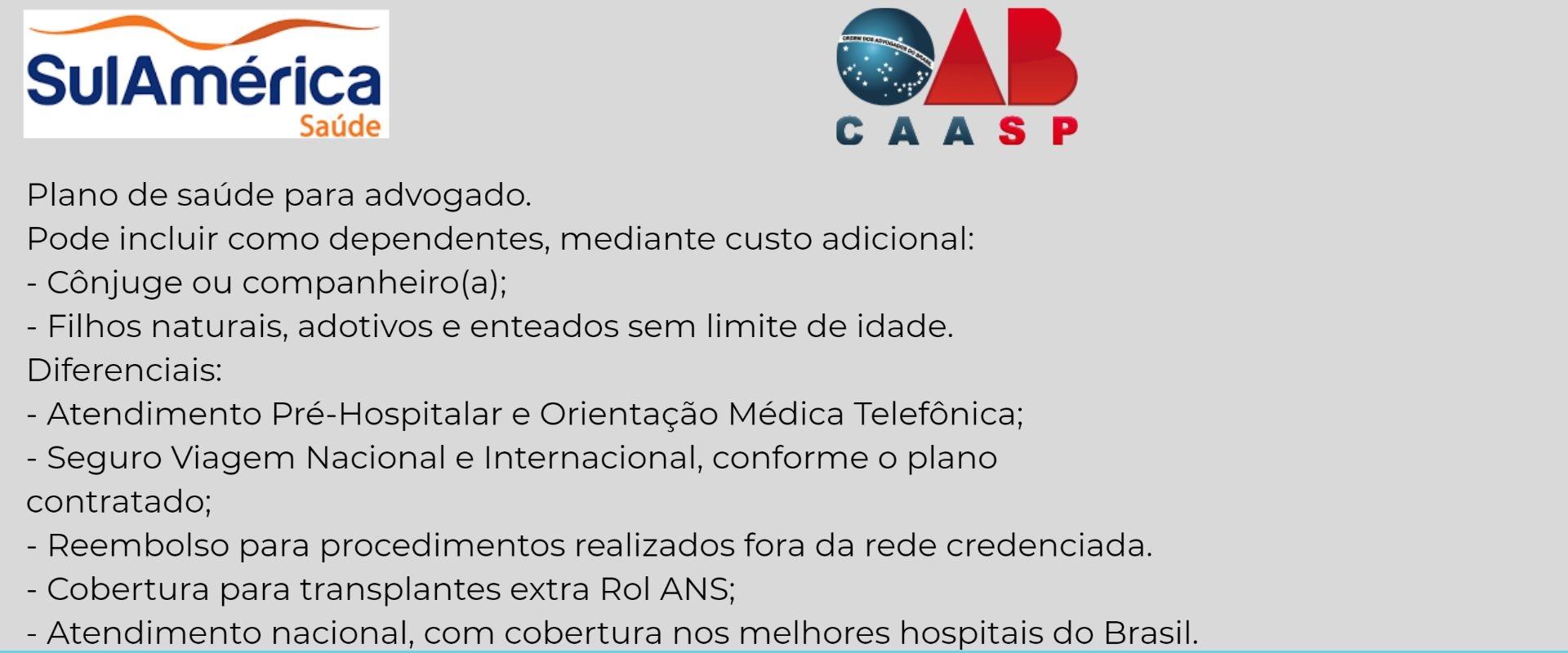 Sul América CAASP