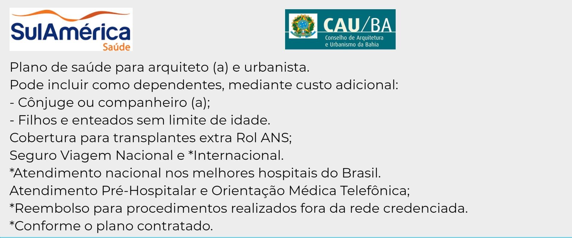Sul América CAU-BA