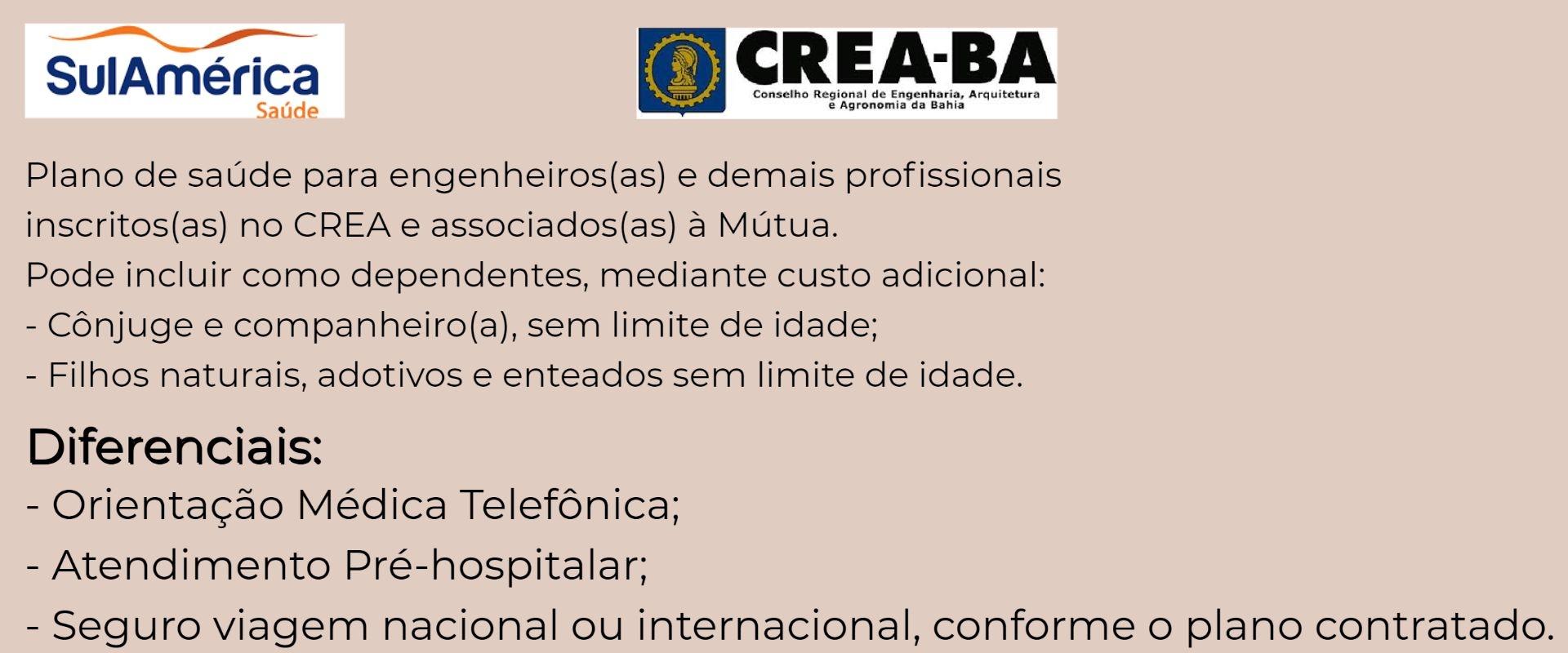Sul América Saúde CREA-BA