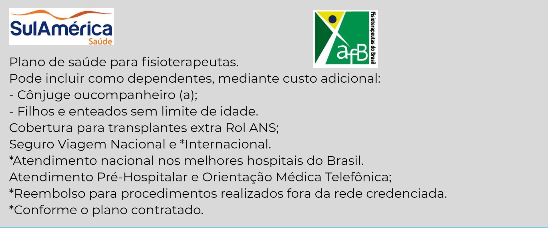 Sul América Saúde Crefito-BA