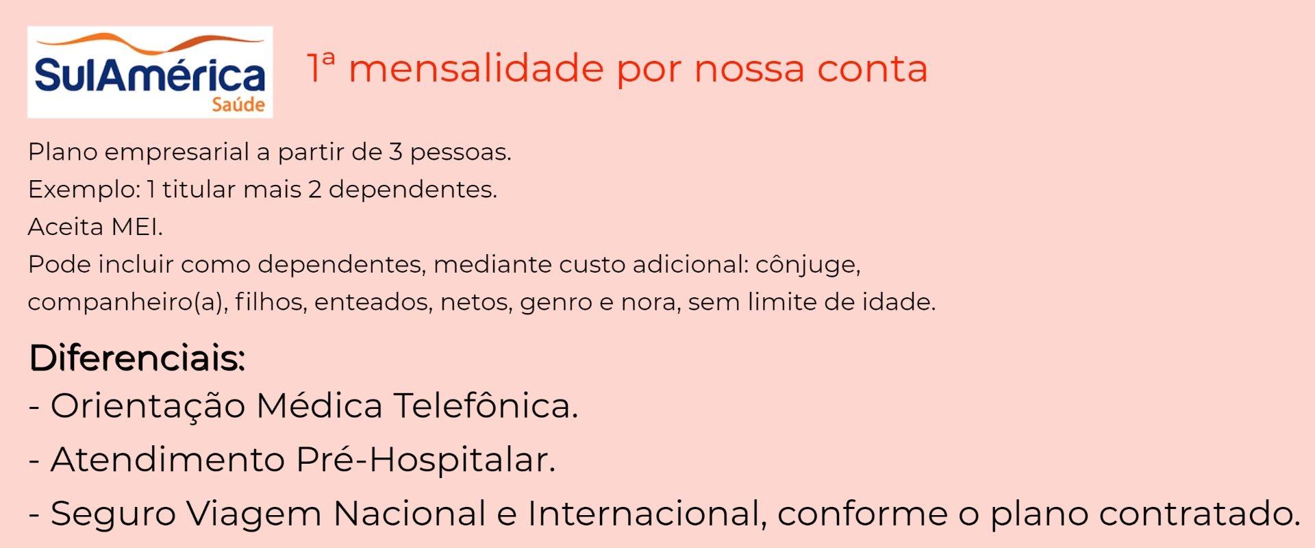 Sul América Saúde Empresarial – Eunápolis