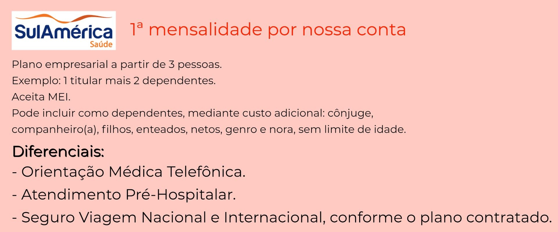 Sul América Saúde Empresarial - Quirinópolis