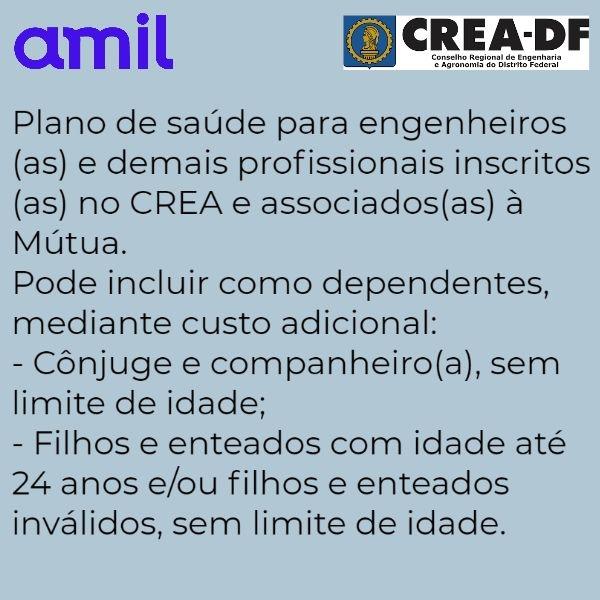 Amil CREA-DF