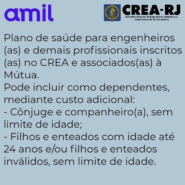 Amil CREA-RJ