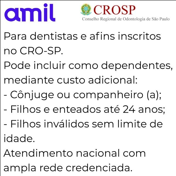 Amil CRO-SP