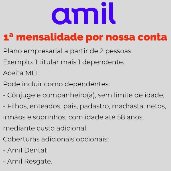 Amil Empresarial Belo Horizonte-MG