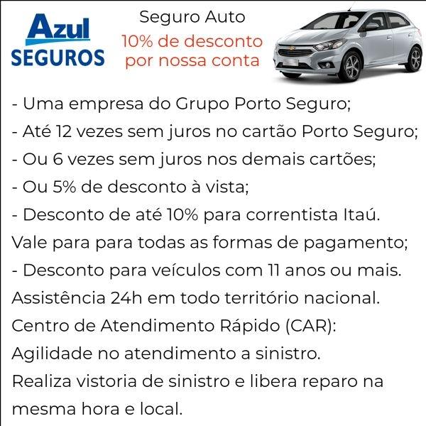 Azul Seguro Auto com Desconto em Caçapava