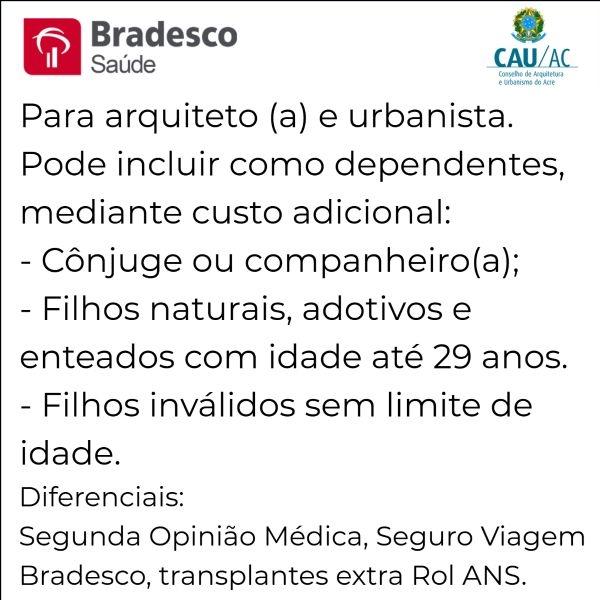 Bradesco Saúde CAU-AC