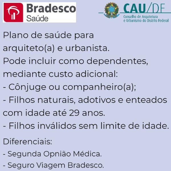 Bradesco Saúde CAU-DF