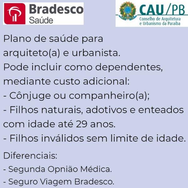 Bradesco Saúde CAU-PB