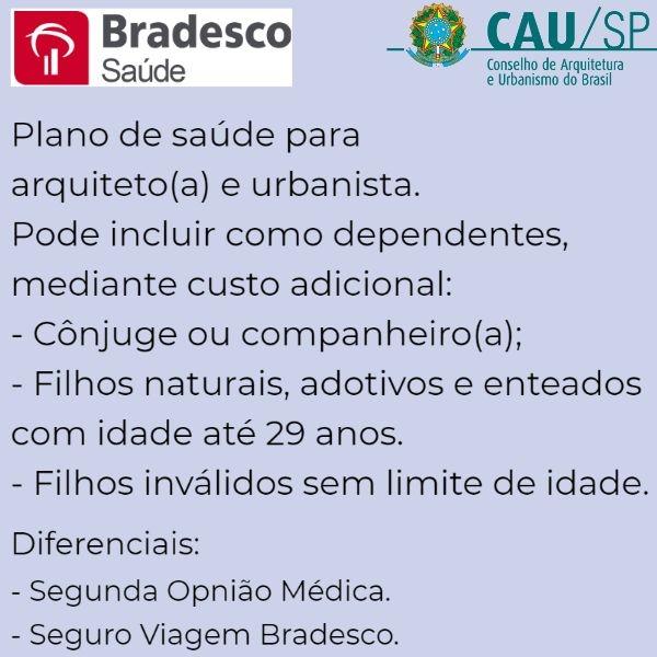 Bradesco Saúde CAU-SP