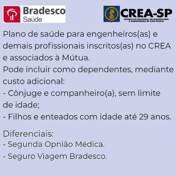 Bradesco Saúde CREA-SP