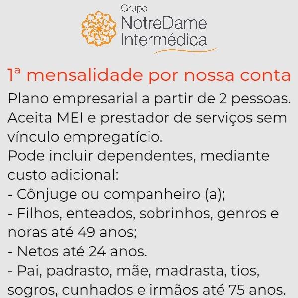 GNDI - Grupo Notredame Intermédica Empresarial em Jandira