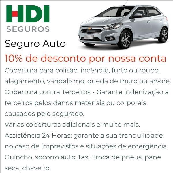HDI Seguro Auto com Desconto em  Jundiaí