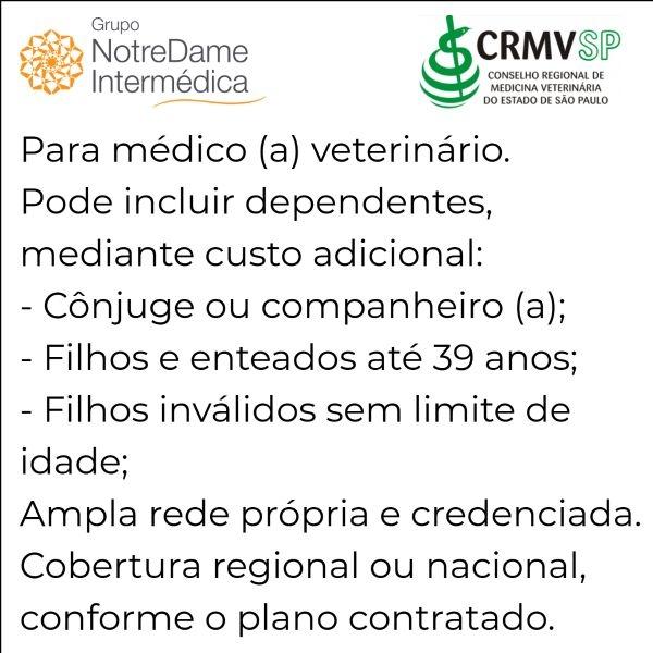 Notredame Intermédica CRMV-SP