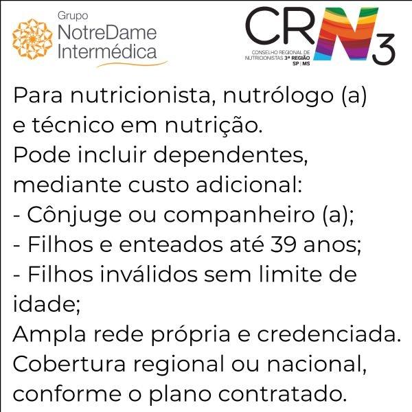 Notredame Intermédica CRN 3-SP