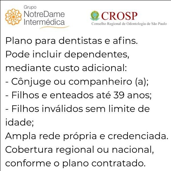 Notredame Intermédica CRO-SP