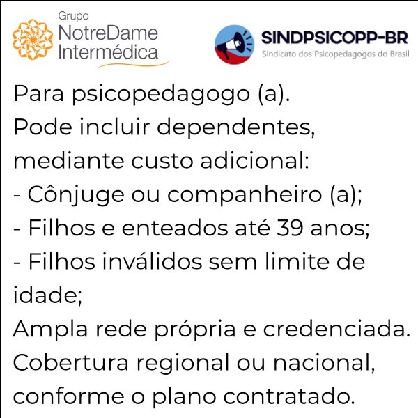 Notredame Intermédica Sindipsicopp-SP