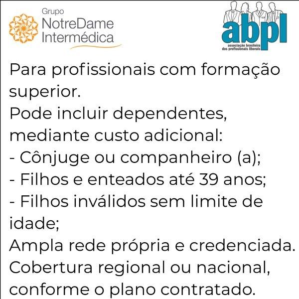 Notredame Intermédica ABPL-RJ