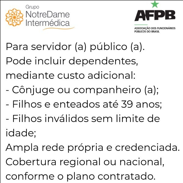 Notredame Intermédica AFPB-RJ