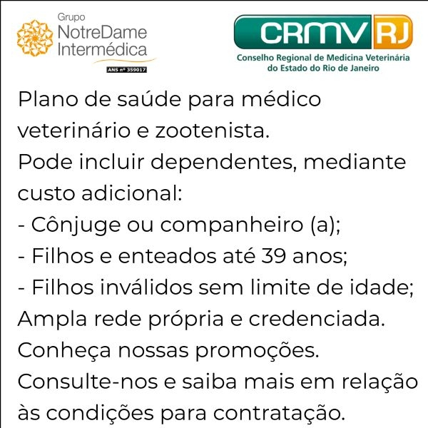 Notredame Intermédica CRMV-RJ