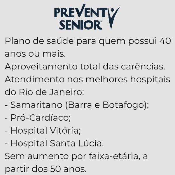 Prevent Sênior Rio de Janeiro- RJ