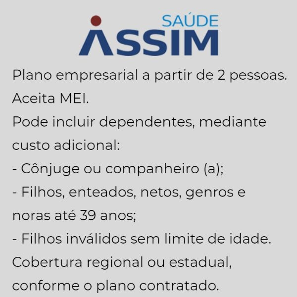 Saúde Assim Empresarial em Rio das Ostras
