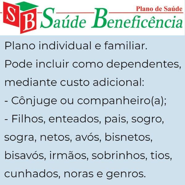 Saúde Beneficência individual e familiar