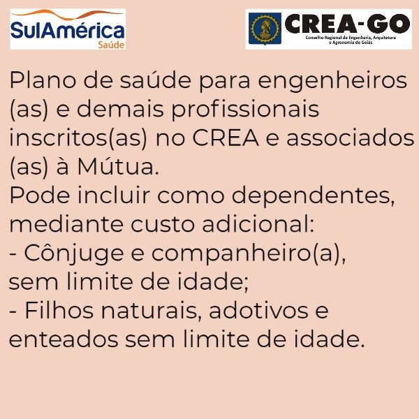 Sul América Saúde CREA-GO