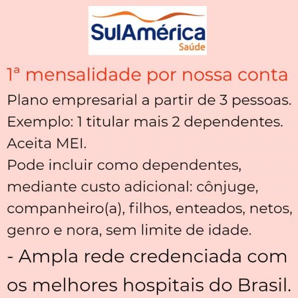 Sul América Saúde Empresarial – Rio de Janeiro-RJ